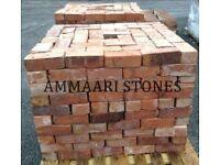 Cheshire Red Reclaimed Wirecut Imperial Stock 68mm Bricks   Pack of 325 Bricks   £315 (£0.97/Brick)
