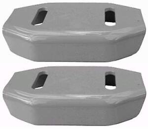 2 Ariens snowblower parts skid shoes 024599 02483859 02483851 runners 2-stage