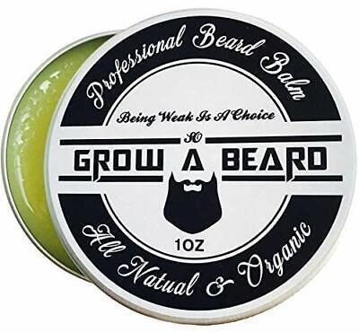 Beard Balm   Leave-in Conditioner & Softener for Men Care   Best Facial Hair & (Best Hair Conditioner For Men)