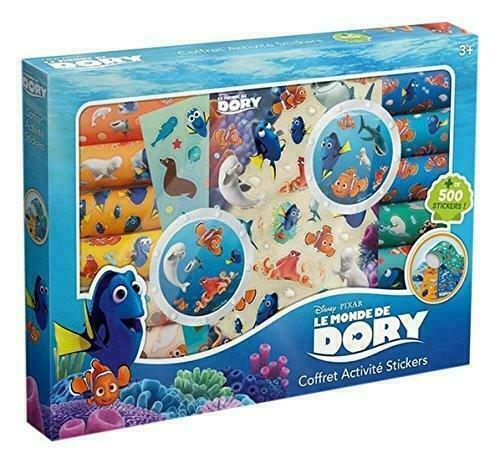 Coffret de + de 500 stickers LE MONDE DE DORY