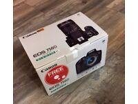 Canon 750D with 18-55mm lens original Box