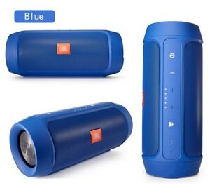 JBL CHARGE 2+ BLUETOOTH SPEAKER NEW,RED,BLUE AND BLACK COLOR