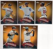 2010 Topps Chrome Set
