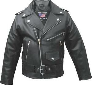 2c4be9b0 Kids Leather Motorcycle Jacket