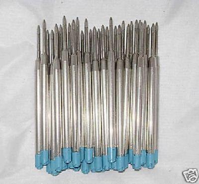 10 Ballpoint Refills for FABER CASTELL PEN - BLUE
