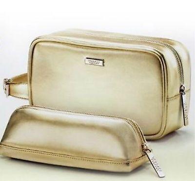 100% AUTHENTIC Ltd Edition VERSACE GOLDEN COUTURE SIGNATURE CLUTCH TWIN BAG SET