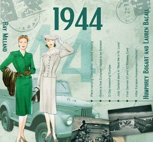 A Time to Remember CD Card 1944[new]