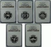 State Quarter Silver Proof Set
