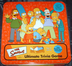 The Simpsons Ultimate Trivia Game (2000)