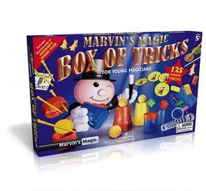 Marvins Magic Box Of Tricks 125 Magic Tricks Children Young Magicians Xmas Gift