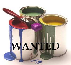 Wanted: Free exterior house paint. Noranda Bayswater Area Preview