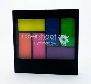 Covershoot Cosmetics Neon Eyeshadow Palette 6 Colour