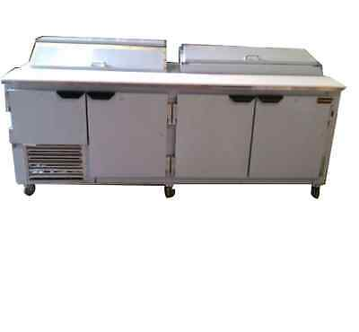 92 New Us-made Commercial Refrigerated Sandwich Pizza Prep Combo Unit
