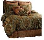 Gold Burgundy Comforter