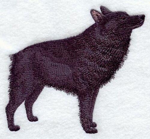 Embroidered Sweatshirt - Schipperke C9641 Sizes S - XXL
