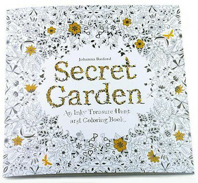Treasure Coloring Book (Secret Garden: An Inky Treasure Hunt and Coloring Book by Johanna Basford)