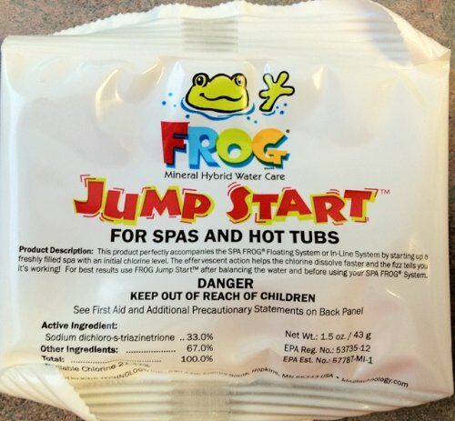 ***2 Pack*** Hot Tub Spa Frog Jump Start Chemical Mineral Pack 01-14-6012