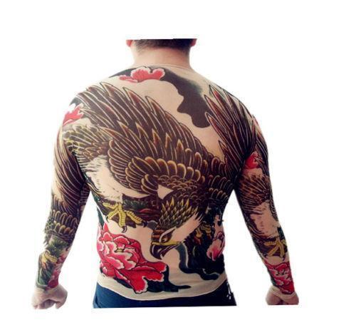 Mesh tattoo shirt ebay for Mesh tattoo shirt