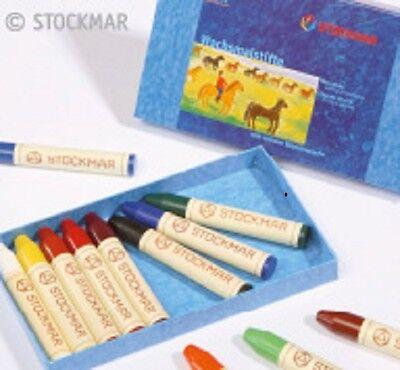 Stockmar Wachsmalstifte - 12 Farben mit reinem Bienenwachs