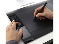 Wacom Intuos 4 Profesional Drawing Tablet For Sale