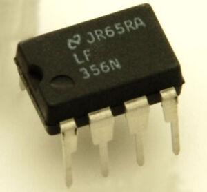 LF356 N - AMPLI OP ULTRA RAPIDE EN BOITIER DIP-8 | eBay