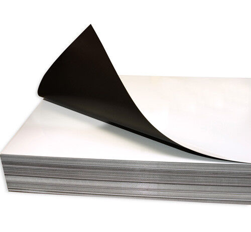 10 Sheets 20 mil THICK GLOSS INKJET MAGNET PAPER 8.5 x 11 MAGNETIC PRINT PHOTO