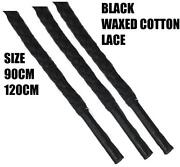 Black Boot Laces Round