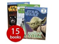 Star Wars Readers Collection - 15 Books - DK (Author) - New, Free Postage