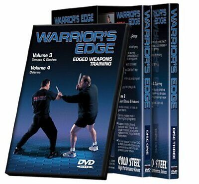 Cold Steel VDWEP Training Warrior's Edge Set - ACCEPTABLE Cold Steel Warriors Edge
