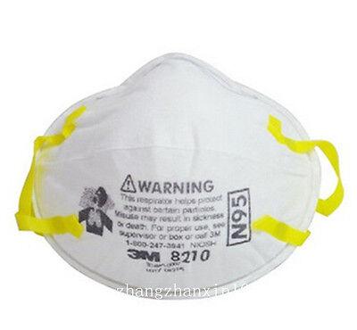 3m 8210 N95 Particulate Respirator Noseclip Adult Dust Mask10pcs-50pcs