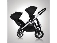 Baby jogger city select double tandem pram pushchair stroller