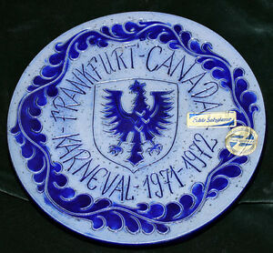 German Collector Karneval Plate Cambridge Kitchener Area image 1