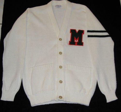 Vintage Letter Sweaters 104