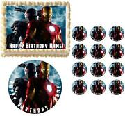 Iron Man Cake Topper