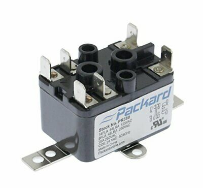 Packard Pr380 Fan Relay 24 Vac Coil Voltage Spst No Nc Contacts