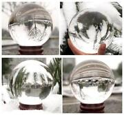 Natural Clear Quartz Crystal Ball