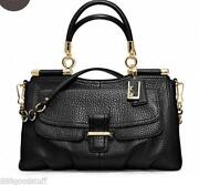 Black Coach Madison Purse