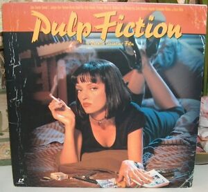 Pulp Fiction Laser Videodisc Rare Japanese Distribution