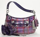 Leather Tartan Women's Bags & Coach Poppy
