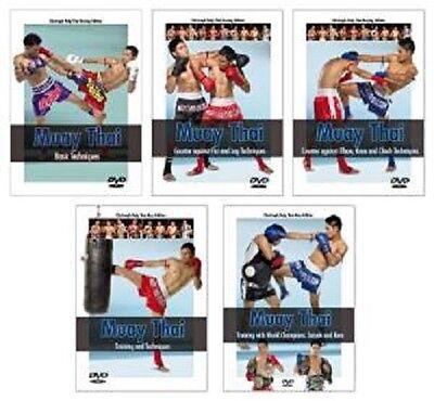 Muay Thai: The Complete Series 5 dvd set SAIYOK KEM fairtex sandee