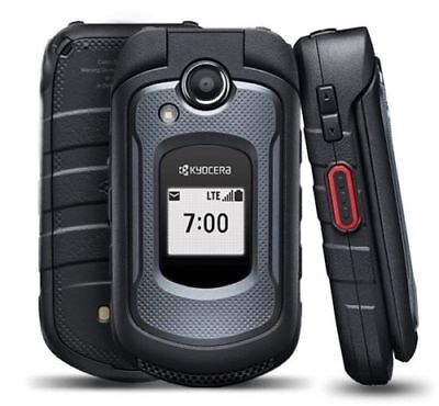Kyocera DuraXE E4710 -PTT -GSM AT&T LTE 4G RUGGED CAMERA CELL FLIP PHONE NEW OTH