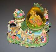 Easter Snow Globe