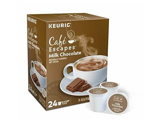 Cafe Escapes, Milk Chocolate Hot Cocoa, 96 k cups