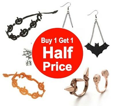Buy 1 Get 1 50% OFF (add 2 to cart) Halloween Accessories & More