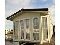 2 Bed luxury, double glazed and central heated static caravan