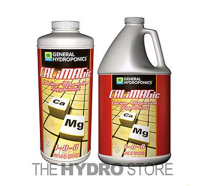 General Hydroponics Calimagic 32Oz Quart  128Oz Gallon  Calcium Magnesium Calmag