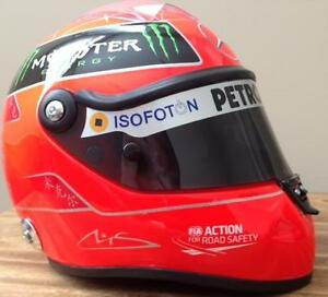 Michael Schumacher Formula One Replica Helmet (BRAND NEW)