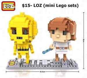 Mini Lego, newest trend with older kids and adults.