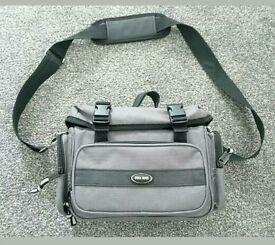 Brand new grey and black pro camera bag