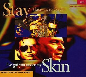 U2/Frank Sinatra-Stay/I've Got You Under My Skin  -5 song cd +
